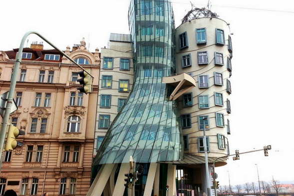 Dancing House Prague building