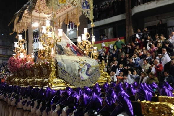 Processions during the Holy Week in Spain