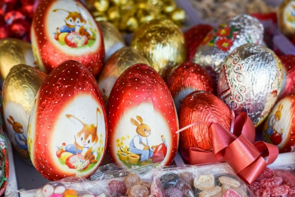Huevos de Pascua Francia