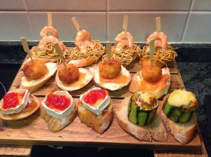 Pintxos – Gastronomic Routes along Basque Country