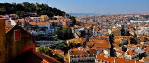 Lisboa. Vista desde los tejados