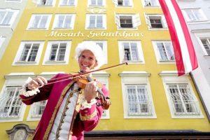 Casa de nacimiento de Mozart