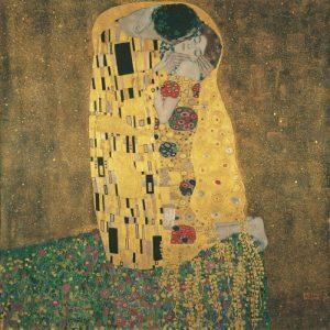 The Kiss. Gustav Klimt