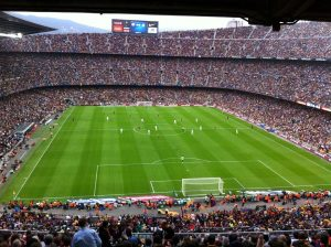 Camp Nou del FC Barcelona