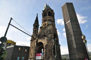 Berlín. Iglesia Memorial Kaiser Wilhelm